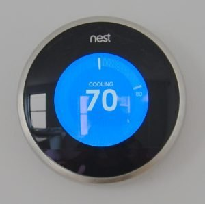 Thermostats are getting more high-tech and integrated.